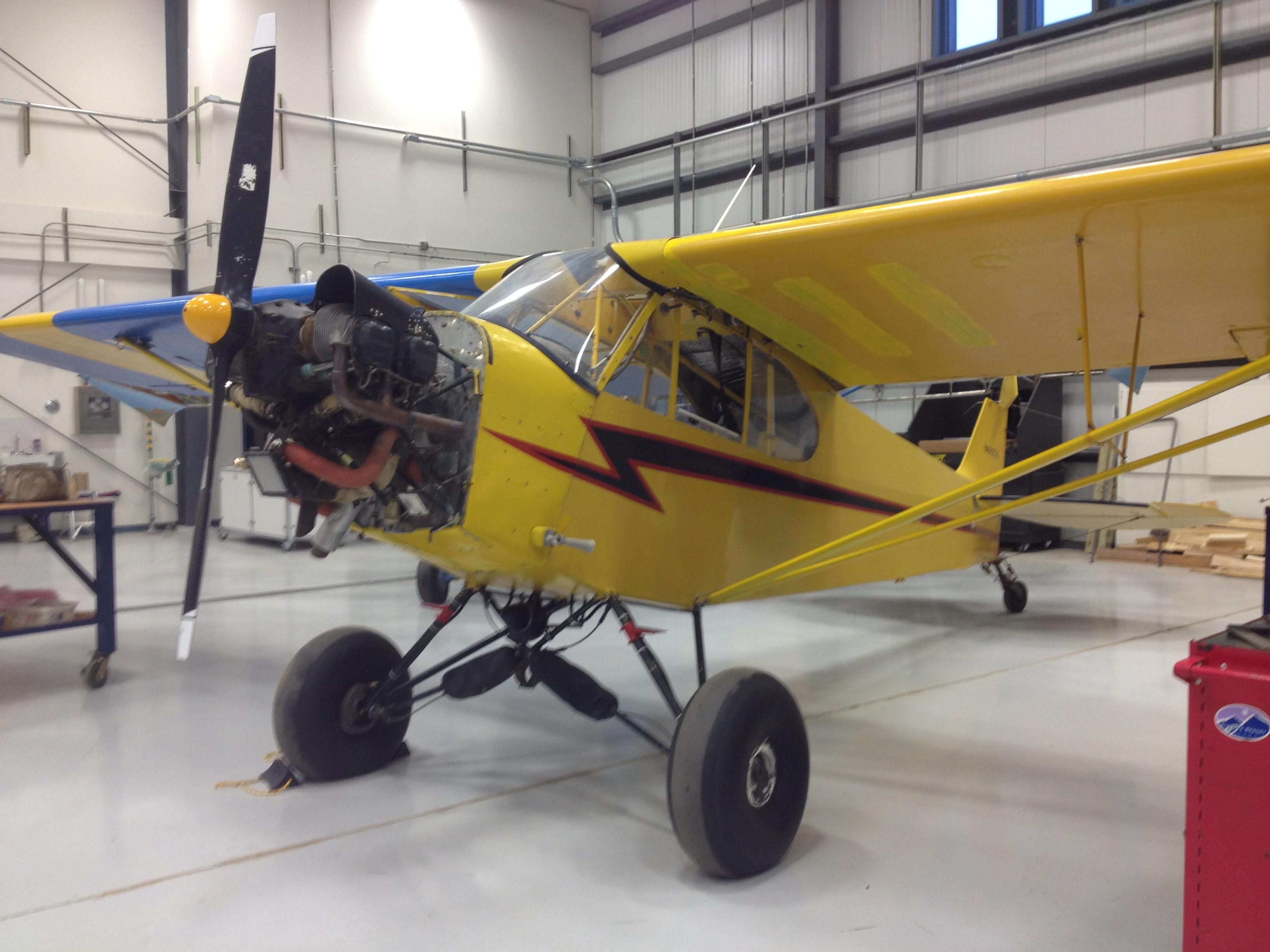 Bethel bush plane for airplane mechanic school