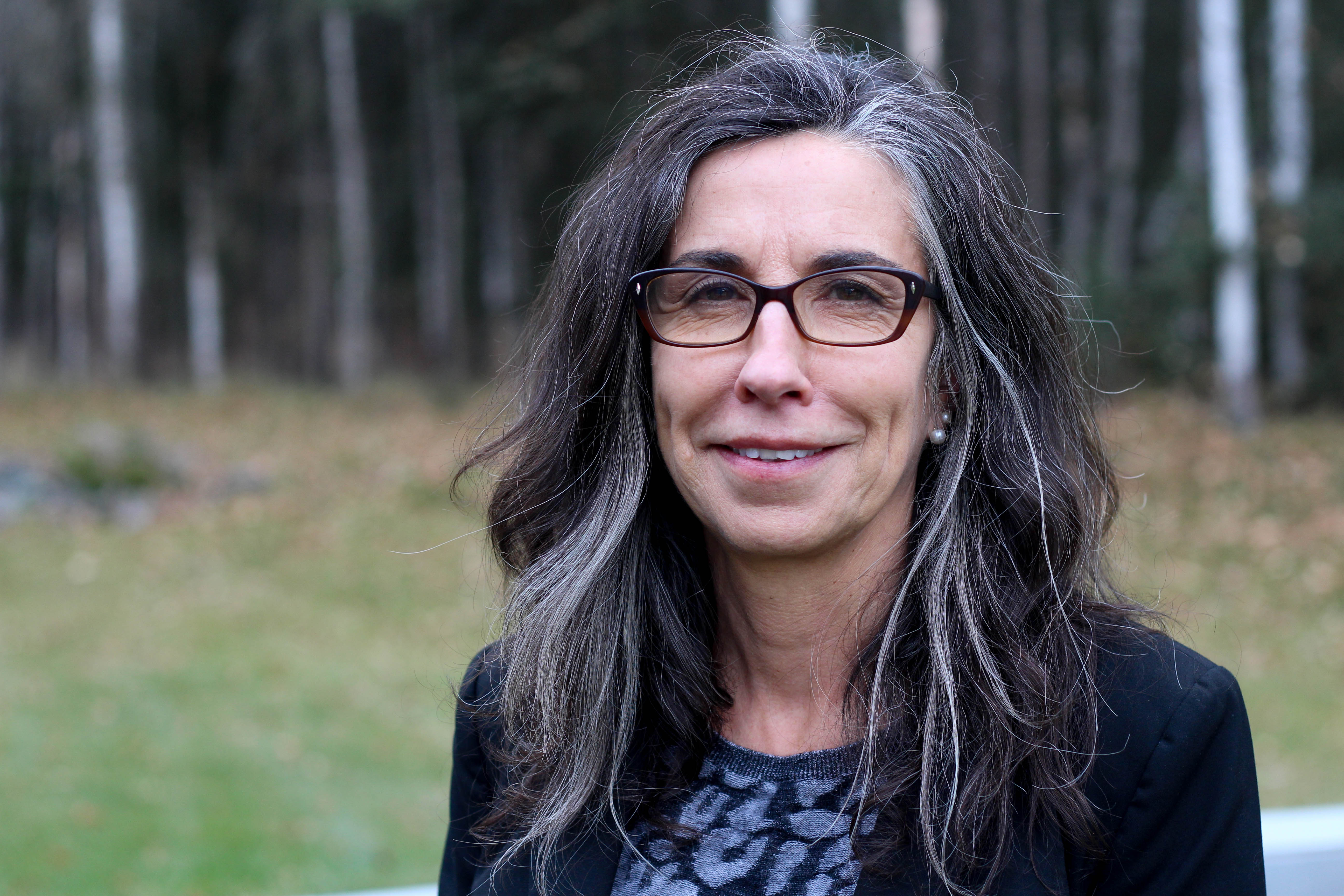 Marti Buscaglia is the new director of the Alaska State Commission for Human Rights. She took over the agency in May 2016. (Wesley Early/ Alaska Public Media)