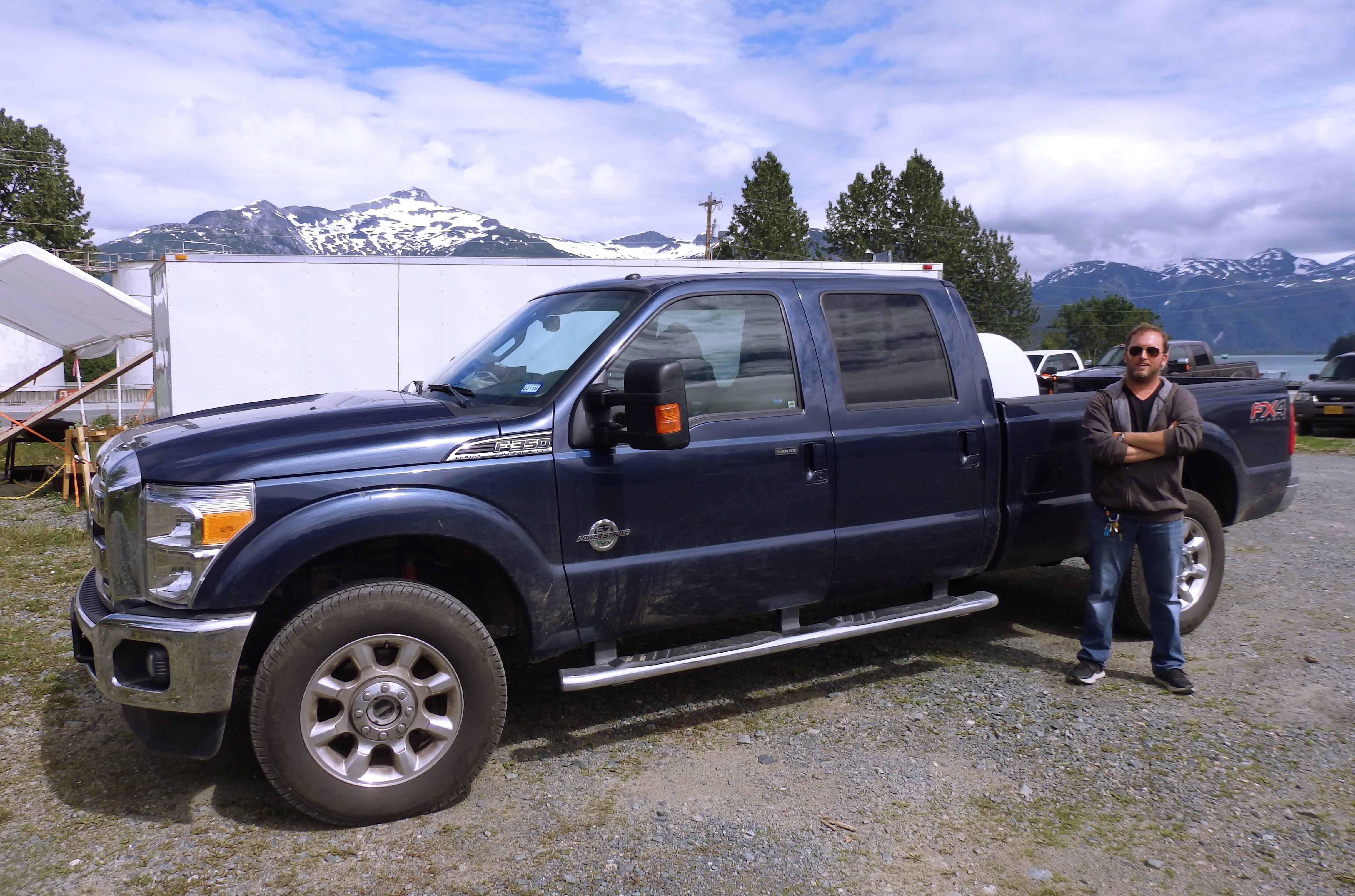 Haines resident Alex Stock has signed up to drive for Uber. He's waiting on a background check and vehicle inspection. (Photo by Emily Files/KHNS)