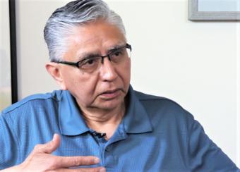 Paul Marks, Khinkaduneek of the Lukaaxh.ádi clan, is among the culture bearers in the film.