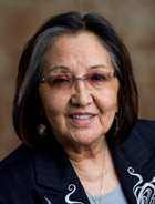 Rosita Worl says she wanted both traditional and contemporary art. (Photo courtesy of Sealaska Heritage Institute)