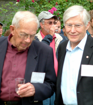Governor Bill Sheffield and Representative Clark Gruening