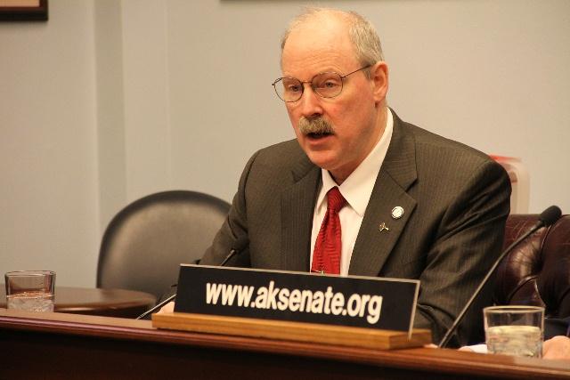 Sitka Republican Sen. Bert Stedman, who also represents Ketchikan, Craig, Metlakatla and most of the region's villages.