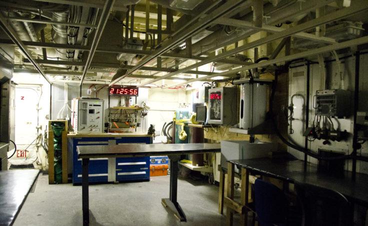 The wet lab.