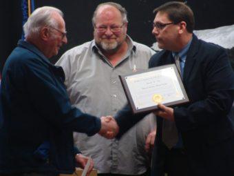 Jim King honored