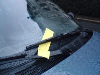 A parking ticket