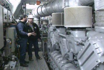 FVF Fairweather engine room