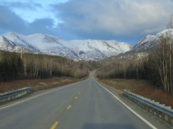 Photo of Sterling Highway. (Wikimedia Commons)