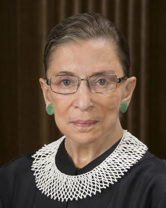Ruth Bader Ginsburg has been a Supreme Court justice since 1993. (Photo by Steve Petteway/Collection of the Supreme Court of the United States)