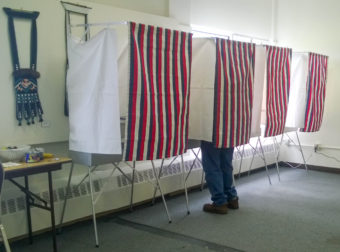voter at the JACC