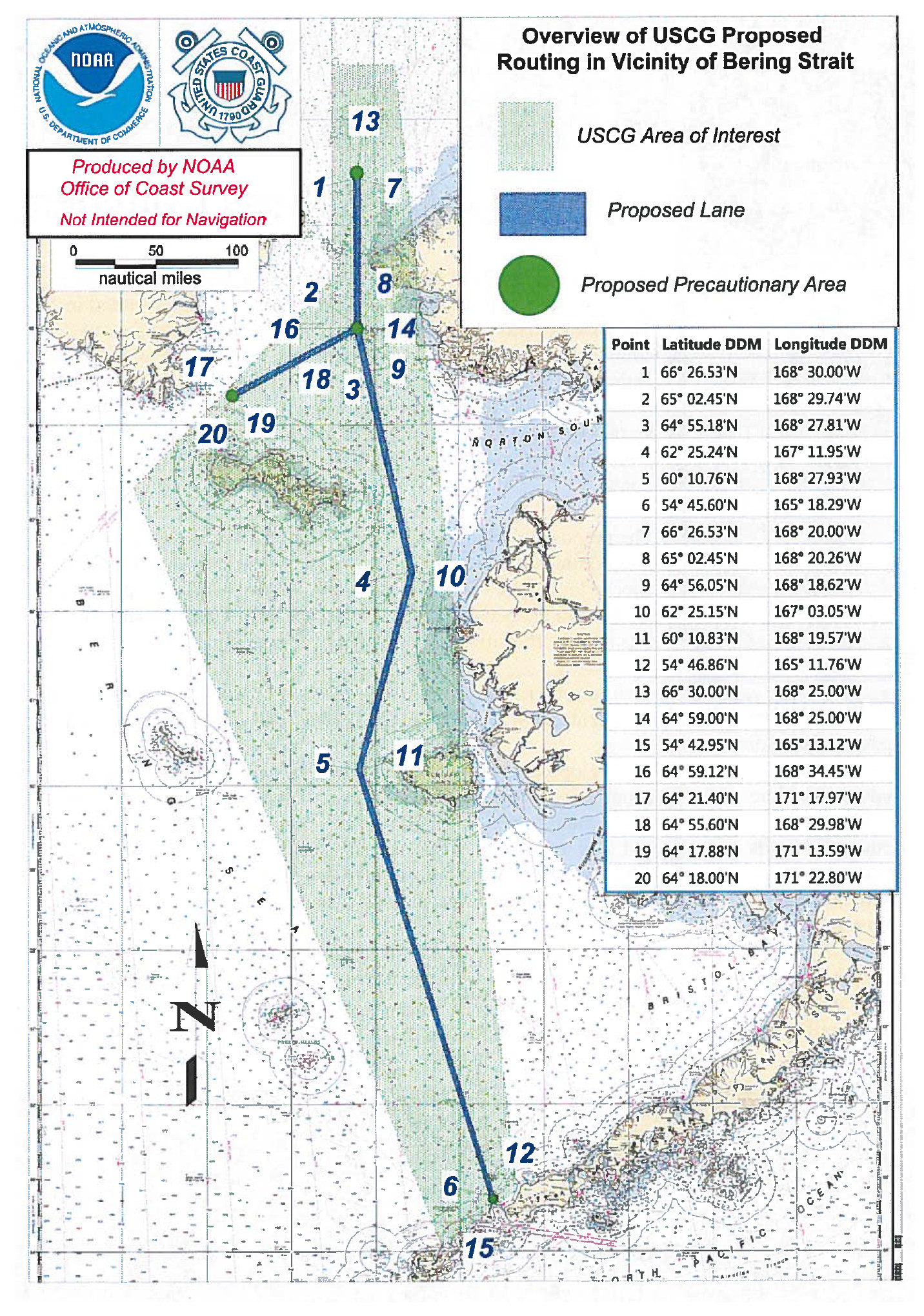 Port Access Route Study