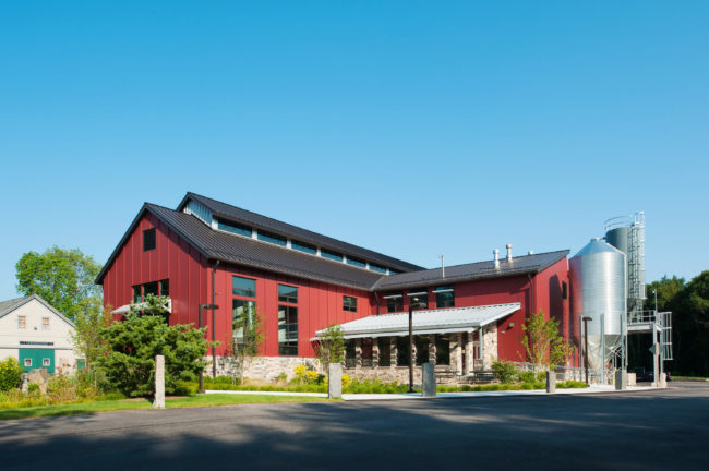 The Smuttynose Towle Farm brewery in Hampton, N.H., has an invisible but tight envelope that keeps the interior temperature consistently cool or warm, prevents energy loss and ultimately saves money. Courtesy of Smuttynose Brewing Company