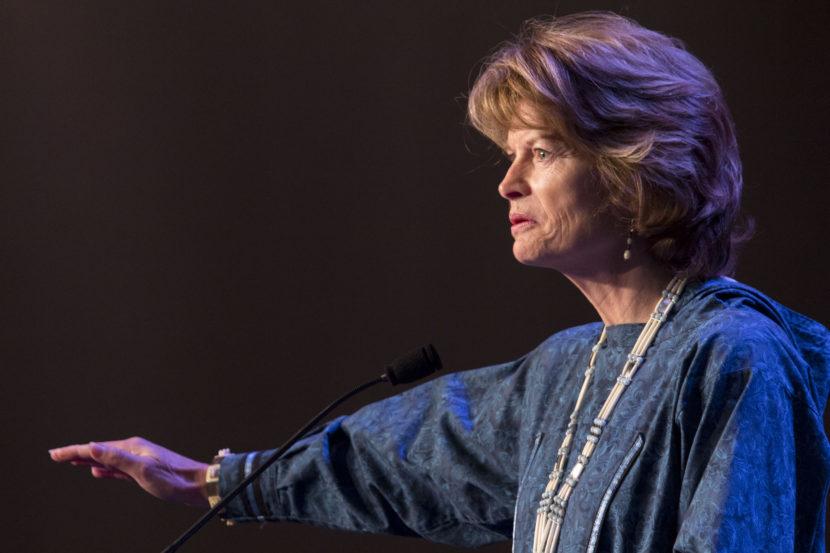 Lisa Murkowski at AFN 2015