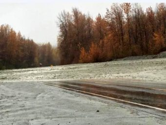 Haines Highway mudslide