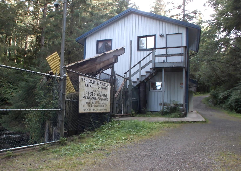 Auke Creek Hatchery and Weir