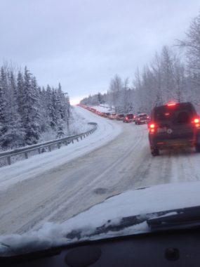 Anchorage commute