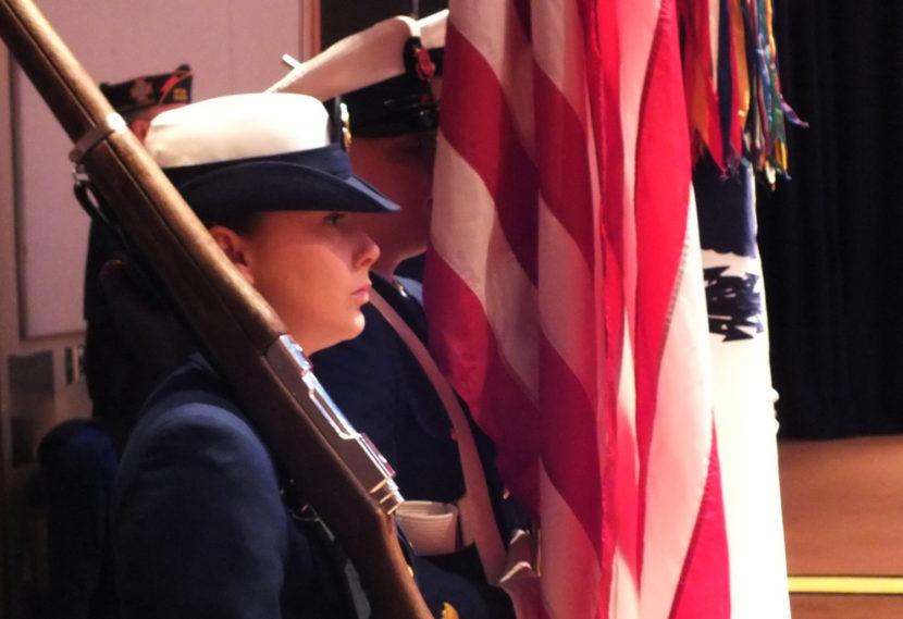 U.S. Coast Guard color guard