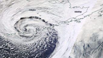 Aleutian storm satellite image 11 04 2015