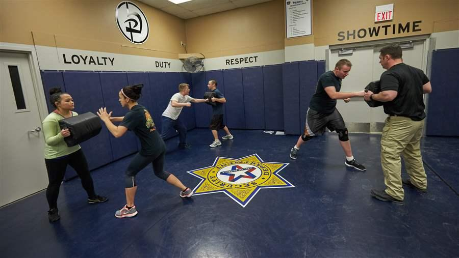 In Many States, Security Guards Get Scant Training, Oversight