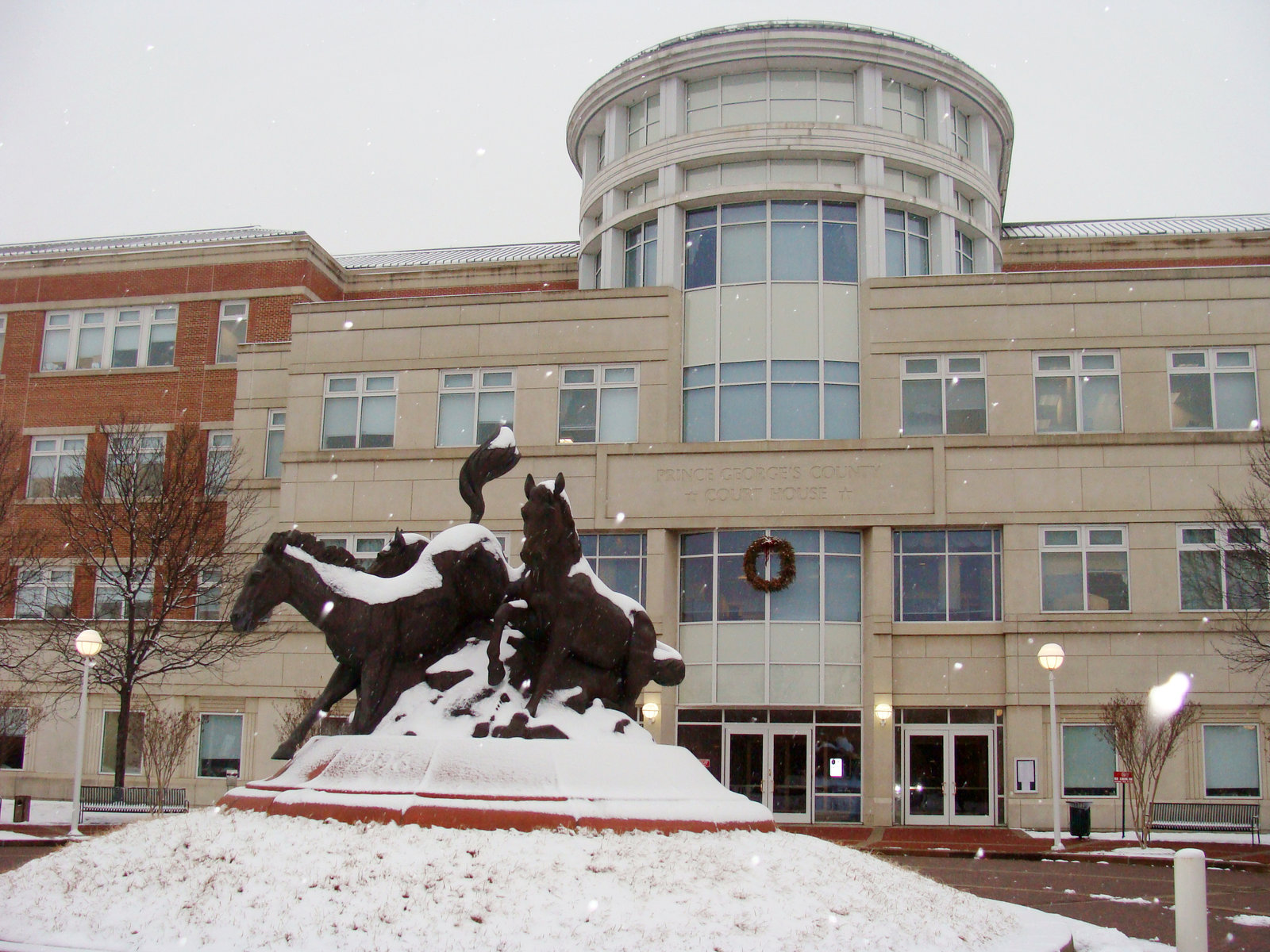 Prince George's County District Court in Maryland has used a mental health court as an alternative to traditional criminal proceedings. Sallicio/Wikimedia