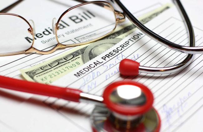 Health care cost stethoscope bill
