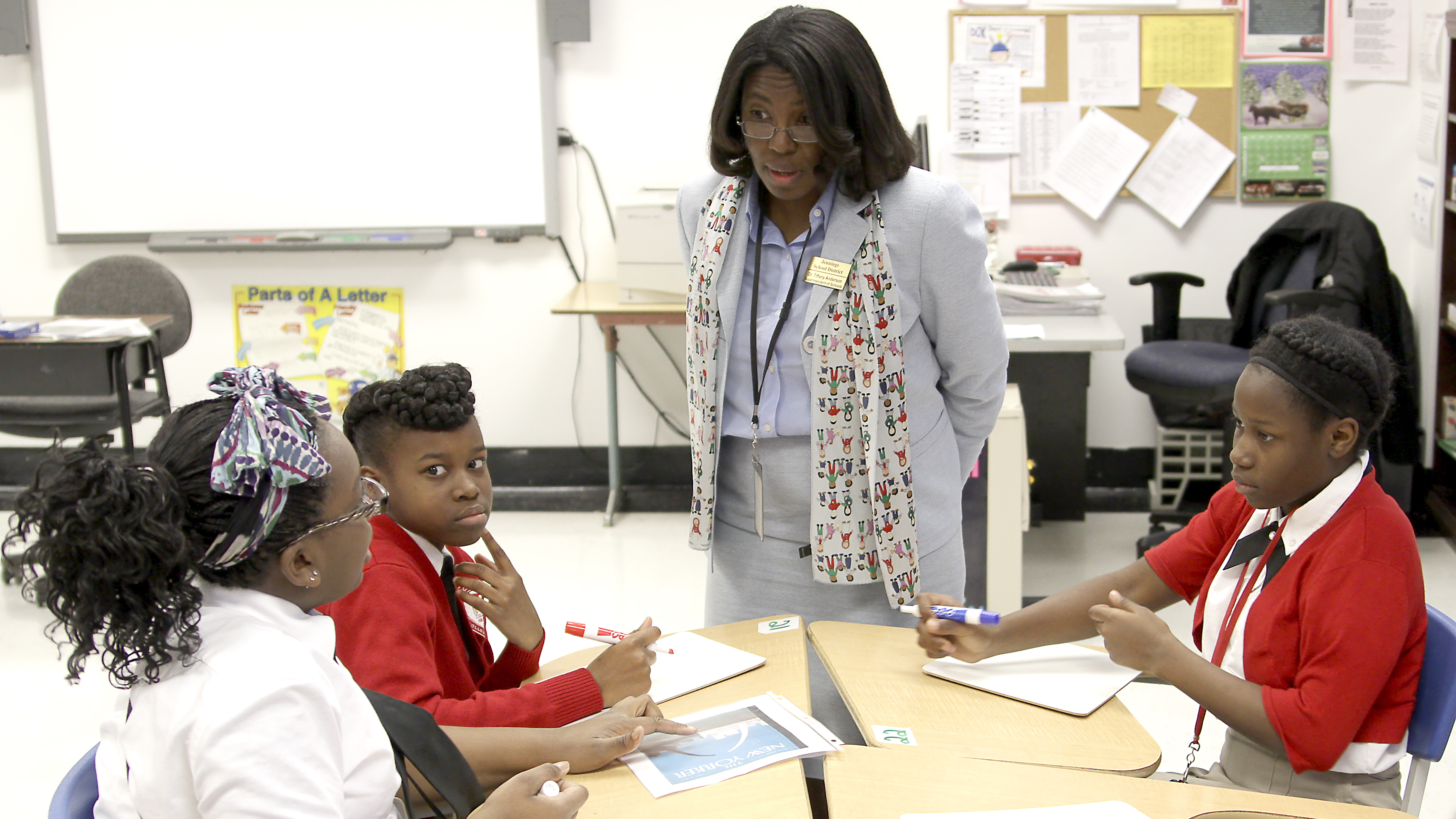 Dr. Tiffany Anderson is credited with turning around the school system in Jennings, Mo. Dr. Bill MacDonald/Courtesy of Tiffany Anderson