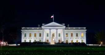 The White House on April 2, 2011.