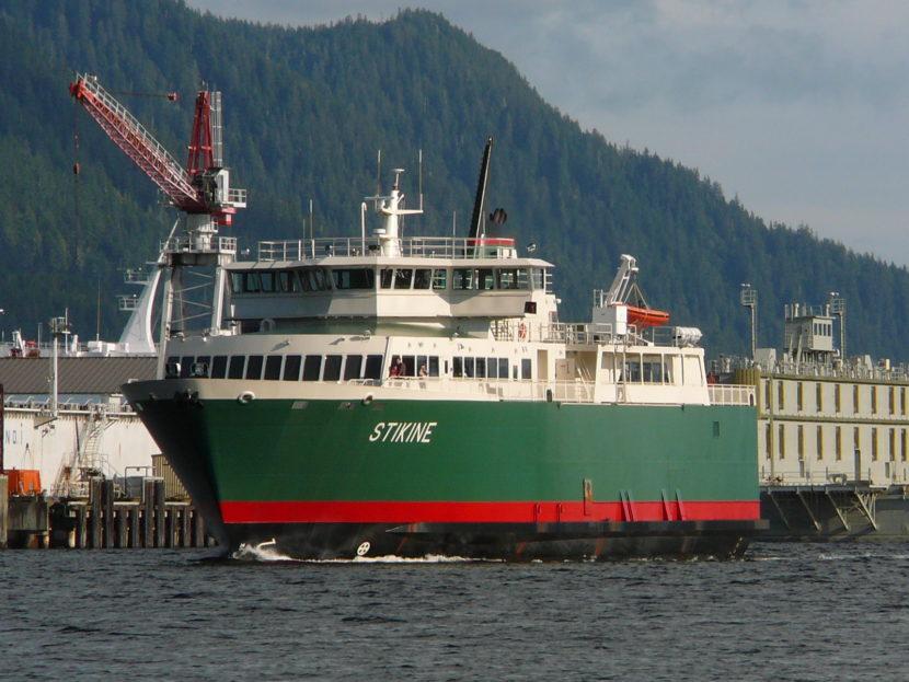 Ferry Stikine in Ketchikan