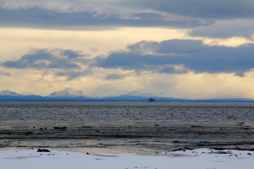 Cook Inlet oil rig