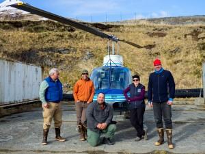 The ShoreZone flight crew (Photo courtesy of Pipa Escanlante)