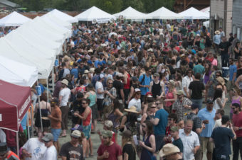 Twenty brewers will be at the 24th annual Alaska Craft Beer and Home Brew Fest. (Photo courtesy of Southeast Alaska State Fair)
