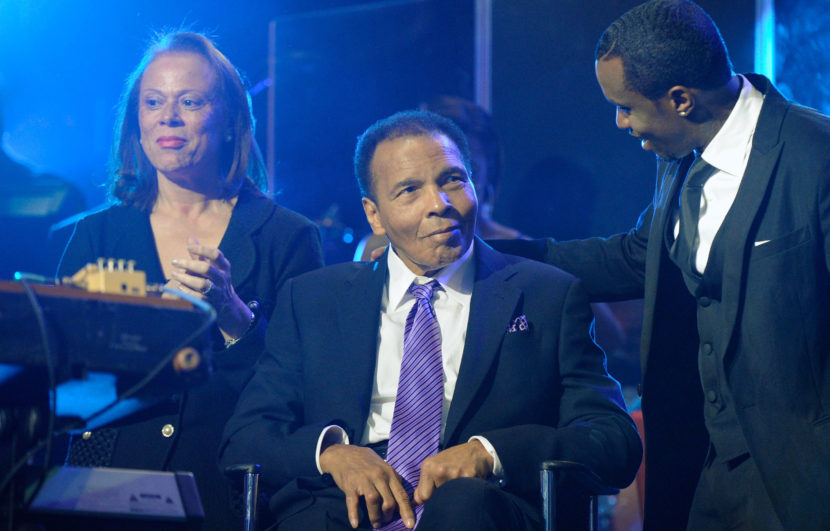 Boxing great Muhammad Ali, seen here in 2012, has been in the hospital since Thursday Ethan Miller/Getty Images for Keep Memory Alive