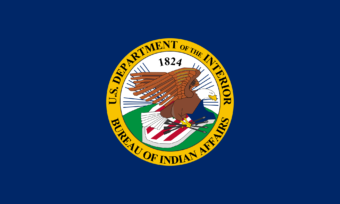 Bureau of Indian Affairs BIA Flag