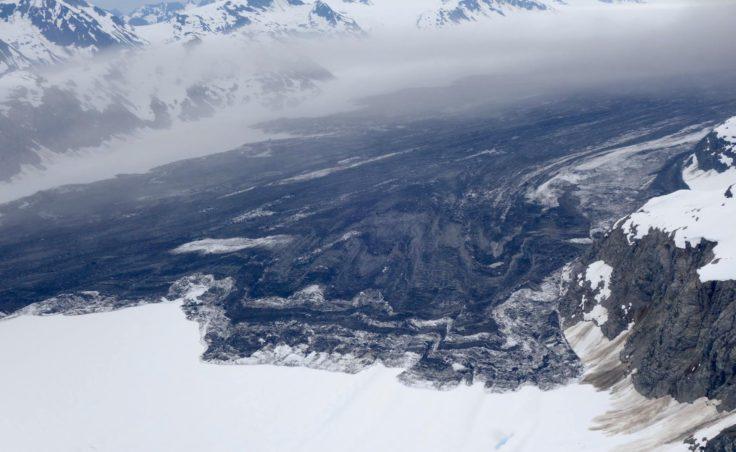 lamplugh glacier landslide