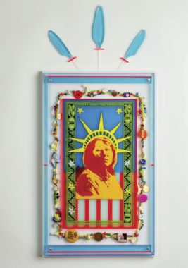 """""""Counting on Liberty"""" by Rebecca Lyon. (Courtesy of Bunnell Street Arts Center)"""