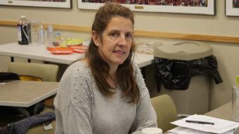 Dianne Zemanek teaches math and science at Dzantik'i Heeni Middle School.