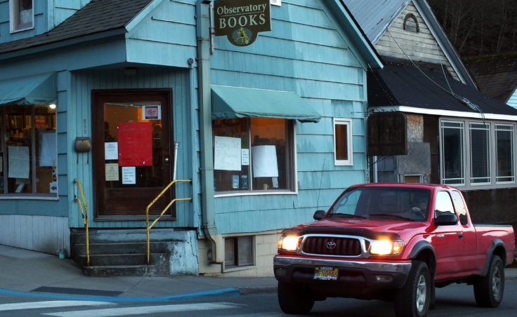 Observatory Books is located at Franklin and Third streets in downtown Juneau.