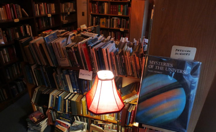 You can even find answers to mysteries of the universe at Observatory Books. All you have to do is look.