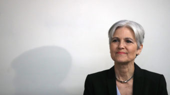 Jill Stein, at a press conference at the National Press Club in Washington, D.C., in August. Win McNamee/Getty Images