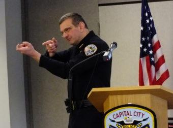 Juneau Police Chief Bryce Johnson