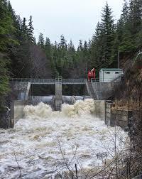 The Gunnuk Creek dam in Kake. (Photo courtesy of the Alaska Energy Authority)