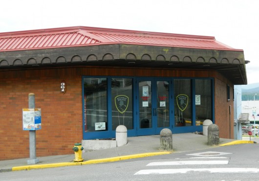 The Ketchikan Police Department's headquarters.