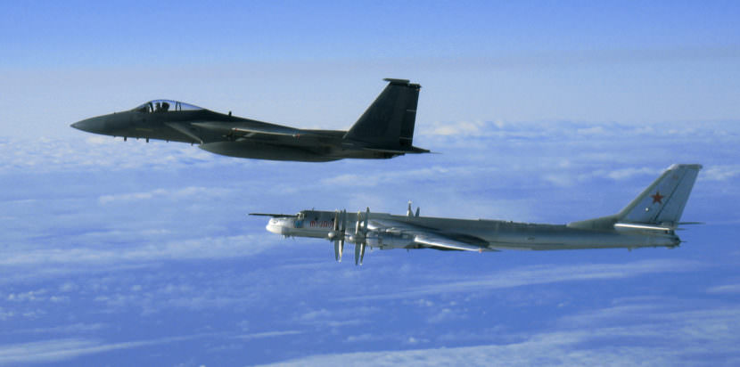 Alaska Air National Guard reports first incursion of Russian military planes since January