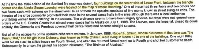 Excerpt of March 14, 1995 article by Robert DeArmond.