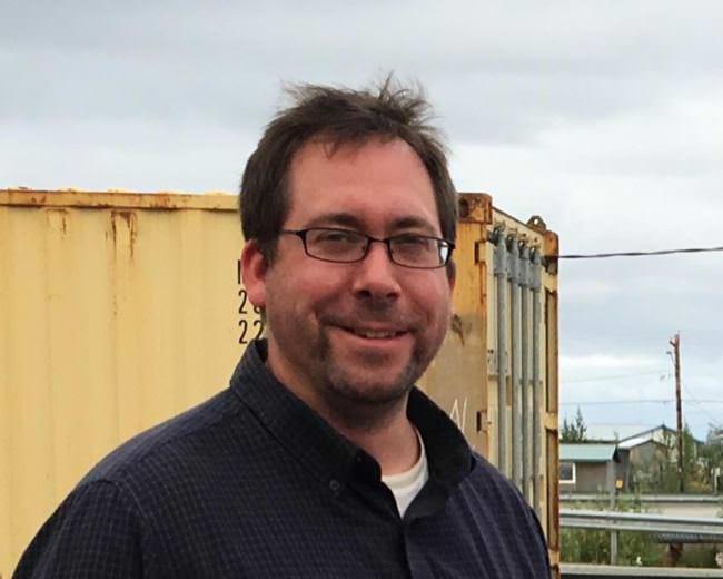 Representative Zach Fansler CREDIT GERALDINE BRINK/KYUK
