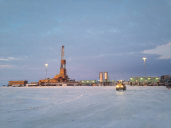 ConocoPhillips' CD5 drill site is producing far more oil than initially estimated. The company thinks there's more oil potential further West (Photo by Elizabeth Harball/Alaska's Energy Desk)