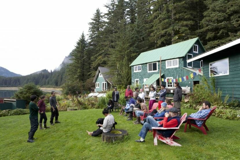 The Inian Islands Institute has been leading experiential courses in Hobbit Hole for several years. With this $1 million purchase from the Howe brothers, the Institute plans to grow their programs and turn the fishing homestead into a permanent field station.