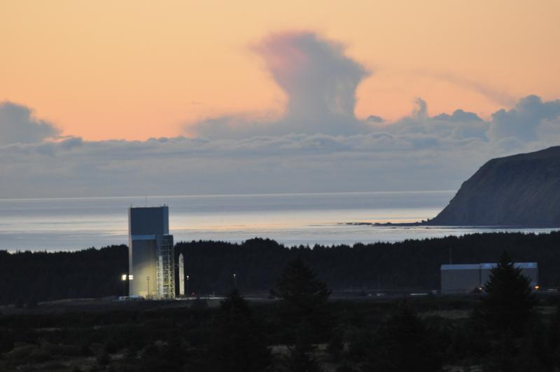 Alaska Aerospace Corporation launch facility in Narrow Cape. (Photo courtesy of Alaska Aerospace Corporation)