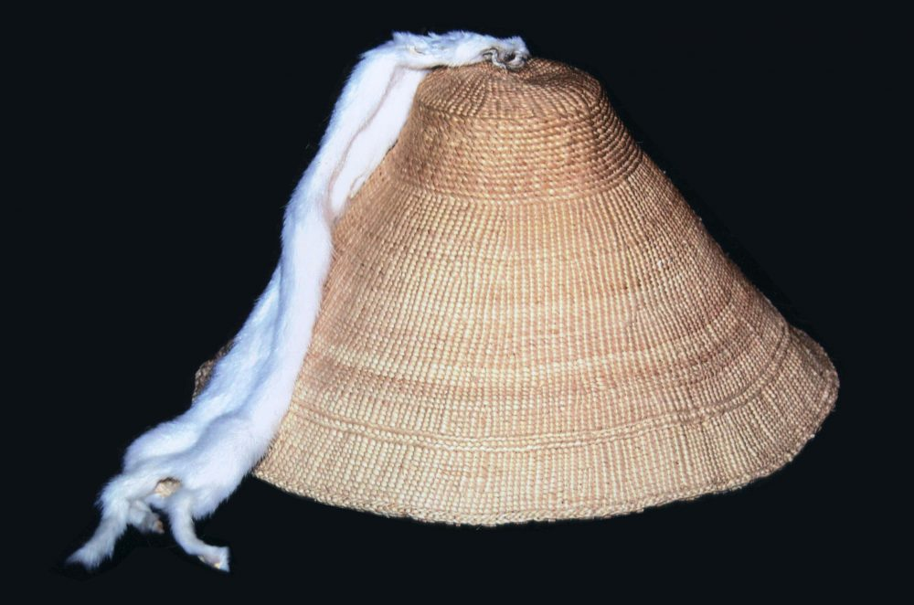 Spruce-root hat by Delores Churchill. (Photo courtesy of Sealaska Heritage Institute)