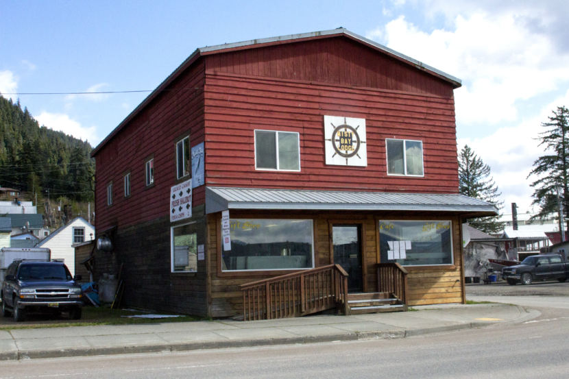The former Misty Bay Lodge will house the new location for Icy Strait Brewing, which is under new ownership, in Hoonah, Alaska. (Photo by Tripp J Crouse/KTOO)